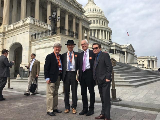 Bill Clinch, Michael J. Fox, Foundation, forum, Washington, D.C. Parkinson Network of Mount Diablo